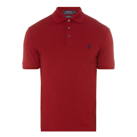 Slim Fit Cotton Polo Shirt, ${color}