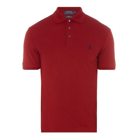Slim Fit Cotton Polo Shirt, ${color}
