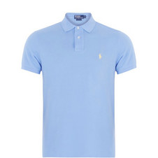 Custom Fit Cotton Pique Polo Shirt