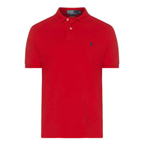 Custom Fit Cotton Pique Polo Shirt, ${color}