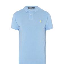 Slim Fit Cotton Pique Polo Shirt