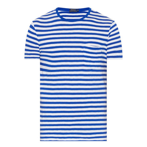 Short-Sleeve Stripe T-Shirt, ${color}
