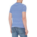 Short-Sleeve Stripe T-Shirt, ${color}