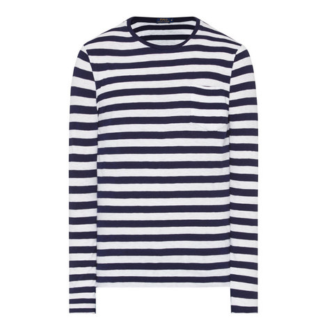 Long-Sleeve Stripe T-Shirt, ${color}