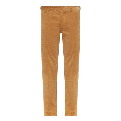 Slim Corduroy Trousers, ${color}