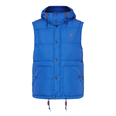 Elmwood Quilted Hooded Gilet, ${color}