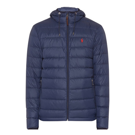 Quilted Down Hooded Jacket, ${color}