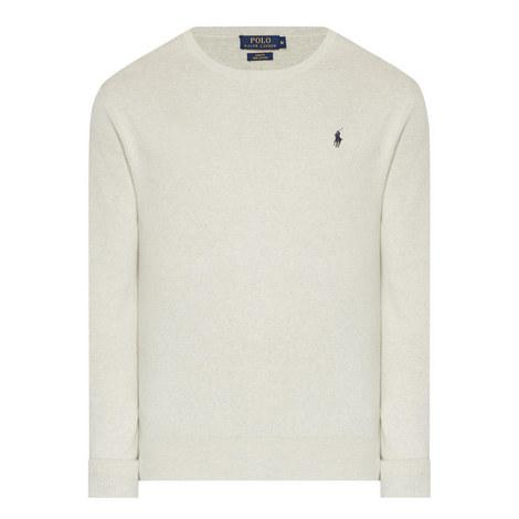 Pima Cotton Crew Neck Sweater, ${color}