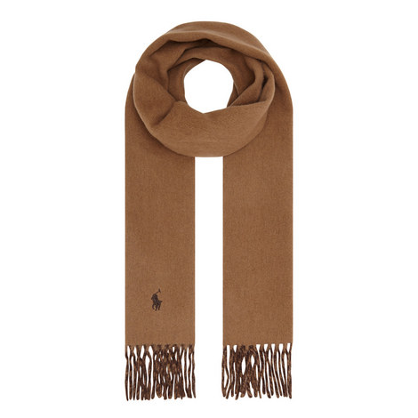 Reversible Wool Scarf, ${color}