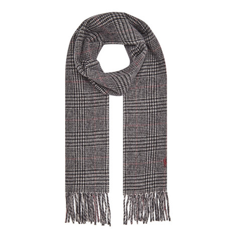 Reversible Glen Plaid Scarf, ${color}