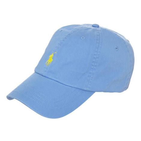 Blue Cotton Baseball Cap, ${color}