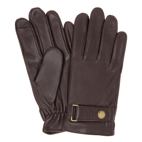 Leather Touch Screen Gloves, ${color}