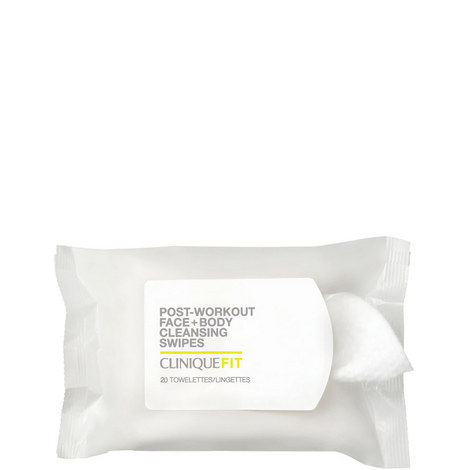 Clinique Fit™ Post-Workout Face + Body Cleansing Wipes, ${color}
