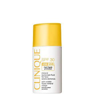 Mineral Sunscreen Fluid for Face SPF30 30ml