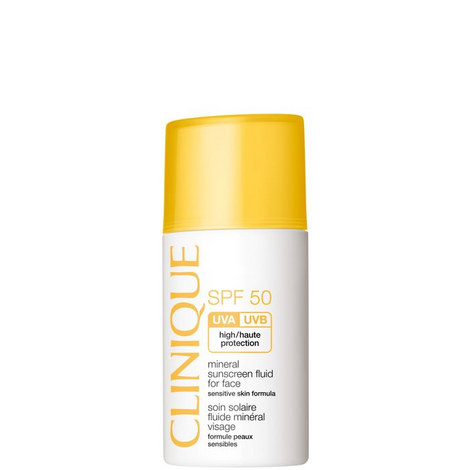 Mineral Sunscreen Fluid for Face SPF50 30ml, ${color}
