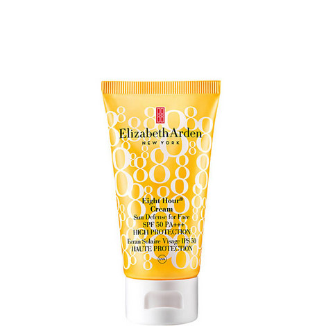 Eight Hour Cream Sun Defense for Face SPF 50, ${color}
