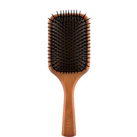 Wooden Hair Paddle Brush, ${color}