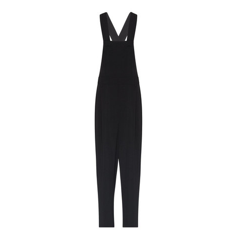 Relaxed Apron Pleated Jumpsuit, ${color}