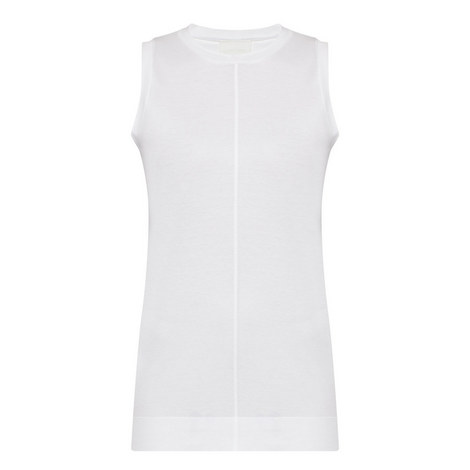 Sleeveless Seam Detail Top, ${color}