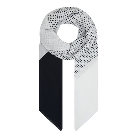 Printed Cotton Scarf, ${color}