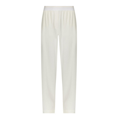 Relaxed Twill Trousers, ${color}