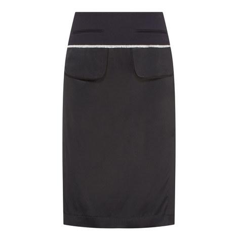 Mixed Media Pocket Skirt, ${color}