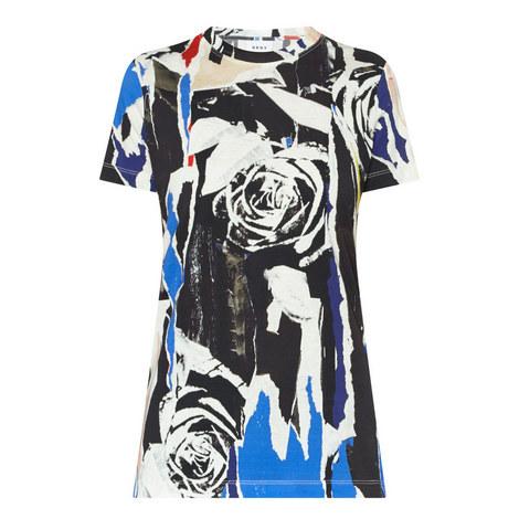 Rose Print T-Shirt, ${color}