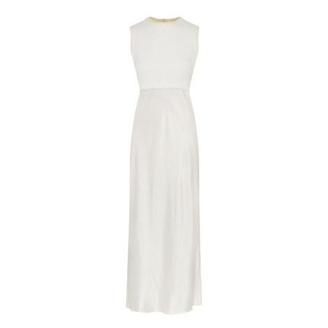 Mixed Media Midi Dress, ${color}