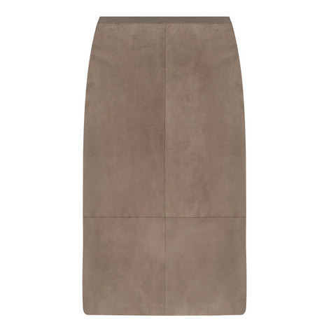 Teresa Suede Skirt, ${color}