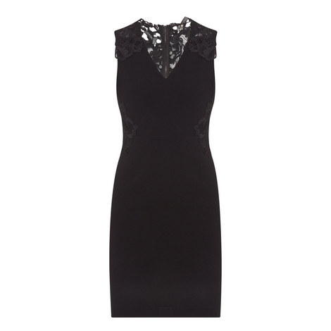 Benita Lace Trim Dress, ${color}
