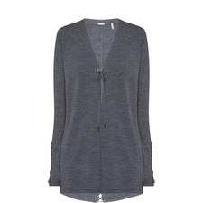 Rosby Lace-Up Cardigan