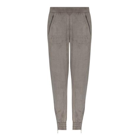 Kit Faux Suede Trousers, ${color}