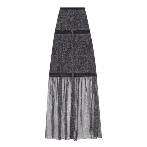 Arlington Floral Maxi Skirt, ${color}