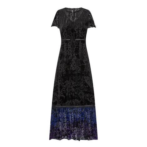 Charlize Burnout Velvet Dress, ${color}