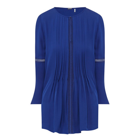 Orion Pleated Front Blouse , ${color}