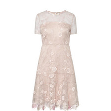 Inez Floral Embroidered Dress