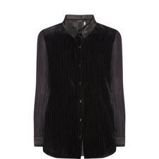 Martha Velvet Shirt