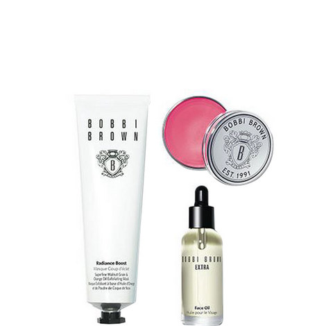 The Bobbi Glow Skincare Trio worth €83.50, ${color}