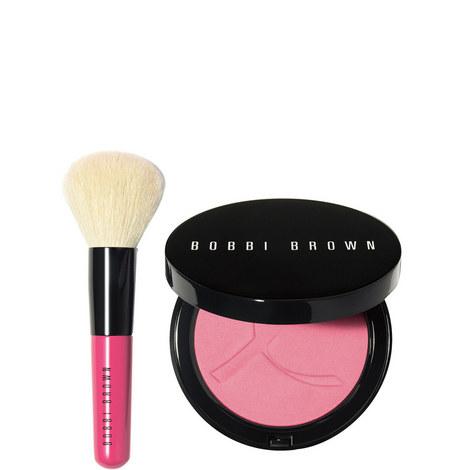 Breast Cancer Awareness Pink Peony Illuminating Bronzing Powder Set, ${color}