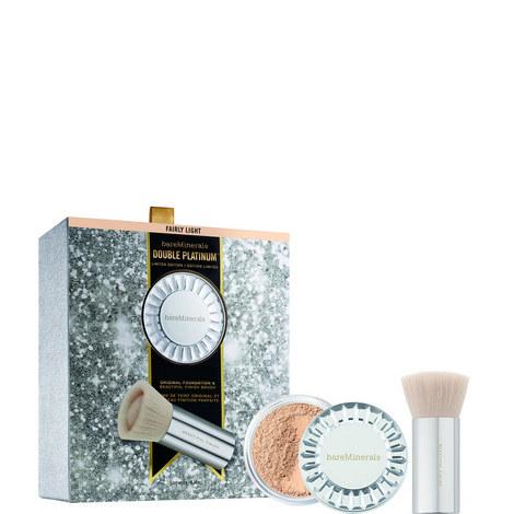 Double Platinum Original Foundation Kit Fairly light, ${color}