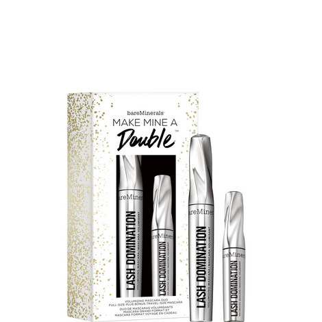Make Mine A Double™ Full-Size & Travel-Size Bestselling Mascara, ${color}
