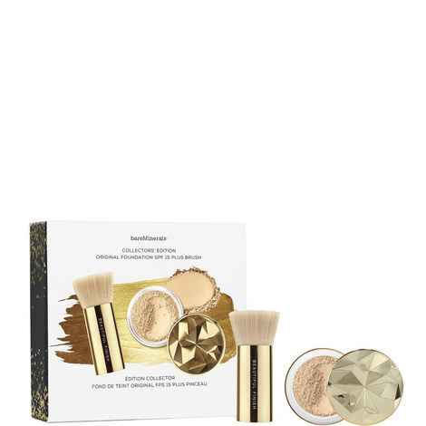 Original Foundation SPF 15 and Brush Duo Collector's Edition: Fairly Light, ${color}
