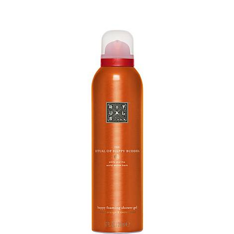 The Ritual of Happy Buddha Foaming Shower Gel 200 ml, ${color}