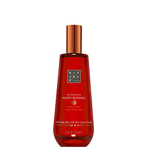 The Ritual of Happy Buddha Body Oil 100ml, ${color}