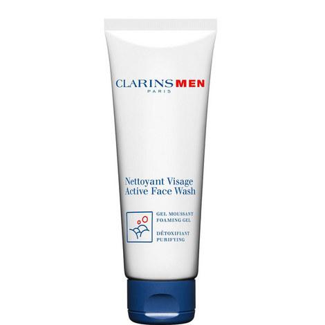 Men Active Face Wash 125ml, ${color}