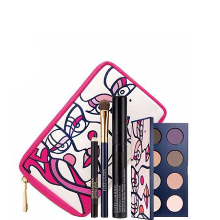 Breast Cancer Awareness Pink Ribbon Knockout Eyes Collection, ${color}