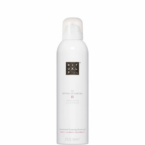 The Ritual of Sakura Foaming Shower Gel 200ml, ${color}