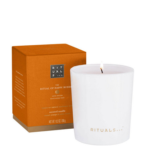 The Ritual of Happy Buddha Scented Candle, ${color}