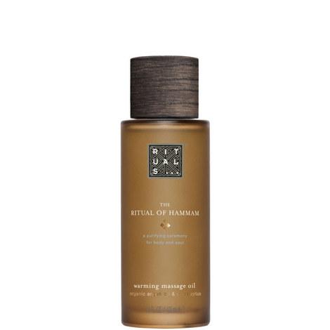 The Ritual of Hammam Massage Oil 100ml, ${color}