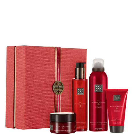The Ritual of Ayurveda - Balancing Ritual Gift Set, ${color}